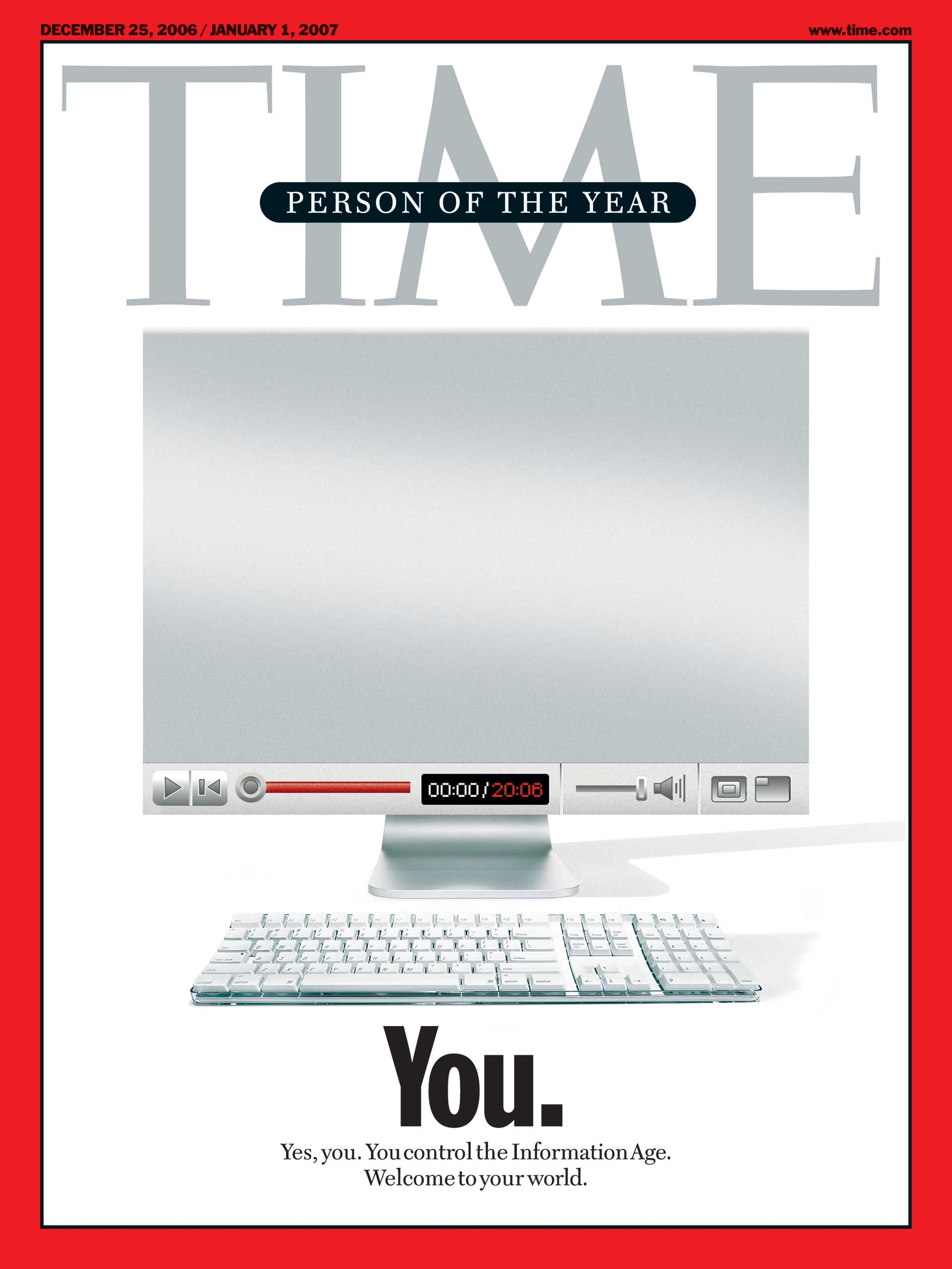 Time 2006 Person of the Year cover