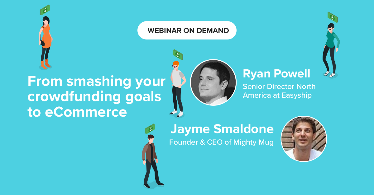 Red Points shipping and crowdfunding webinar, with Jayme Smaldone and Ryan Powell