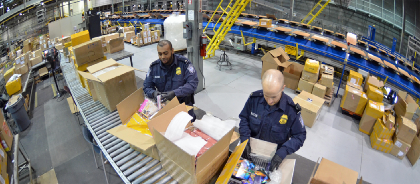 Online counterfeit products flood western customs each year