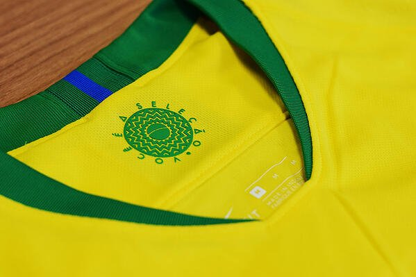 real brazil football shirt
