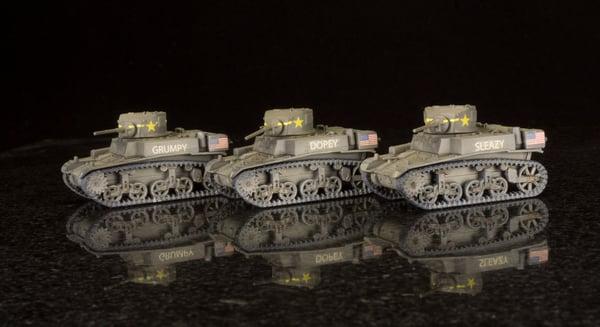 Light Tank M3A1 Stuart