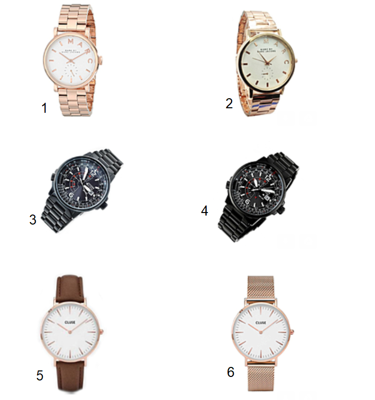 Spot the fake watch