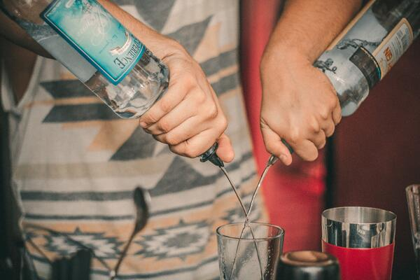 Pouring over - illegal alcohol counterfeiting