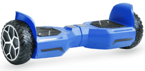 A hoverboard that infringes a registered patent