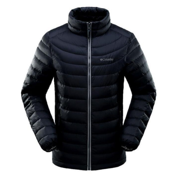 A fake Columbia jacket, which can easily trick consumers