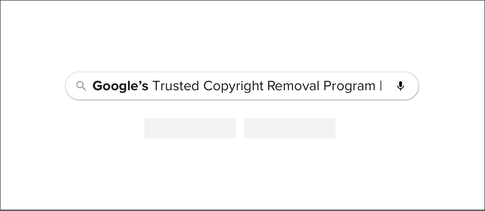 Googles trusted copyright removal program