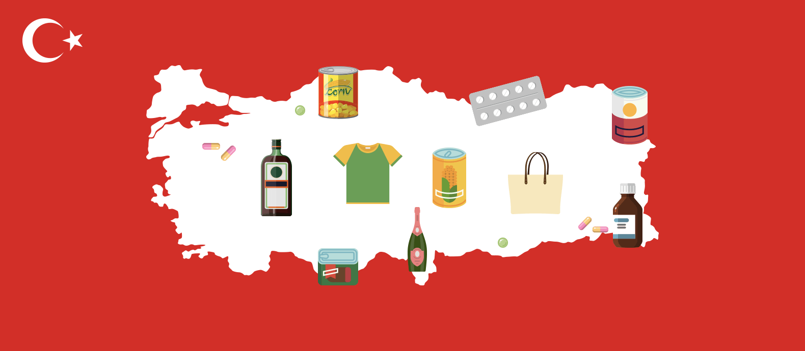 Turkey is the biggest producer of counterfeits near Europe