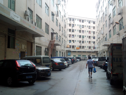 An unassuming suburb in Shenzhen, concealing thousands of shanzhai workers