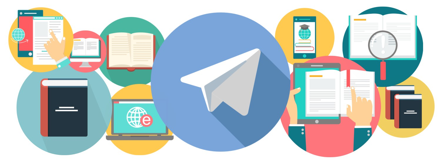 Telegram app, which is becoming inundated with pirated materials