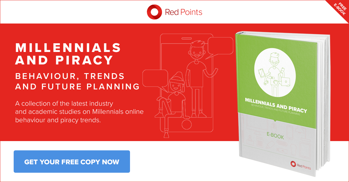 Brand Protection specialists Red Points' market research on Millennials and piracy trends