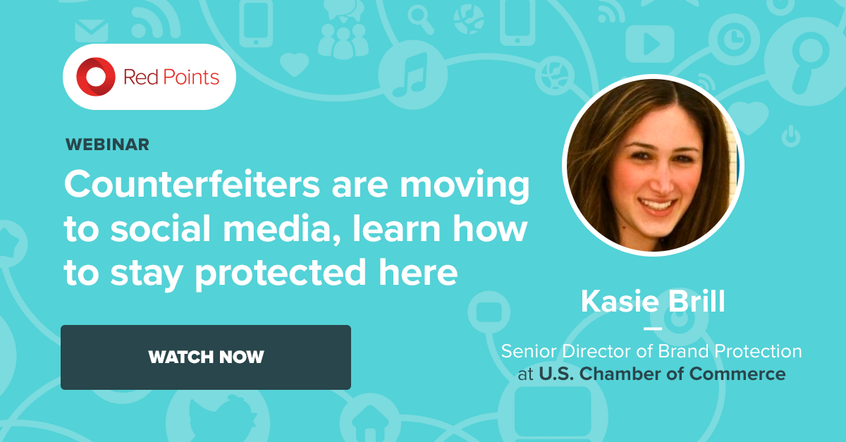 Brand Protection specialists Red Points' webinar on counterfeits moving to social media