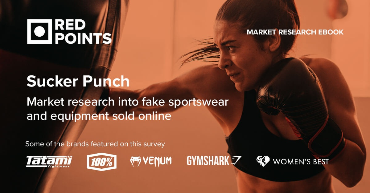 Red Points' Market Research on Fake Sports Products sold online