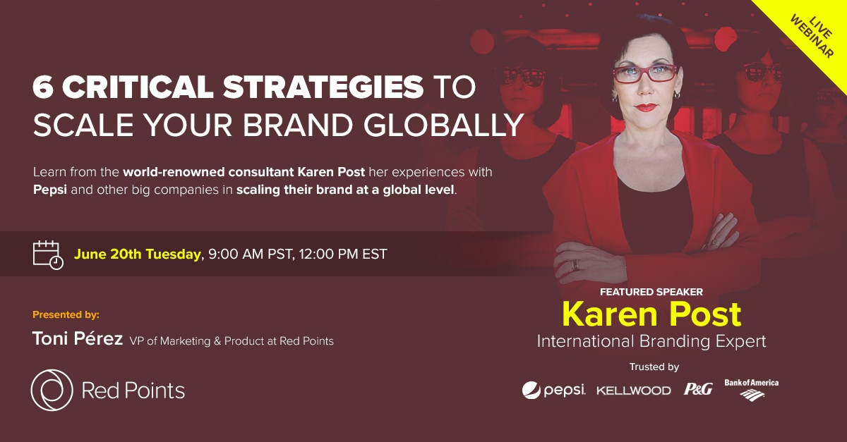 Red Points team up with Karen Post to give a branding masterclass