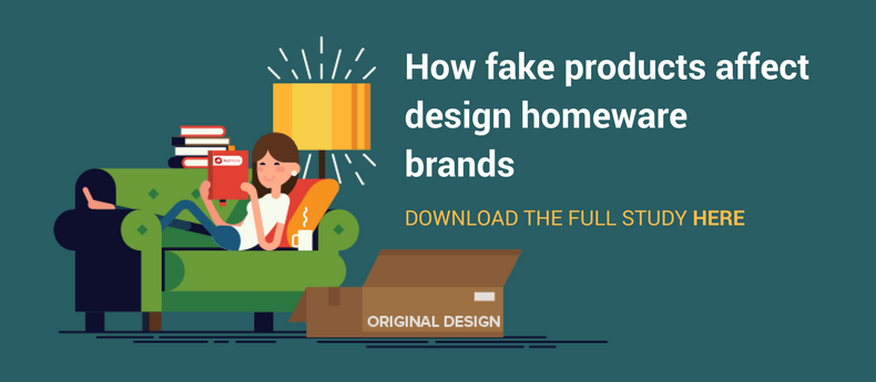 Fake designer furniture and homeware products