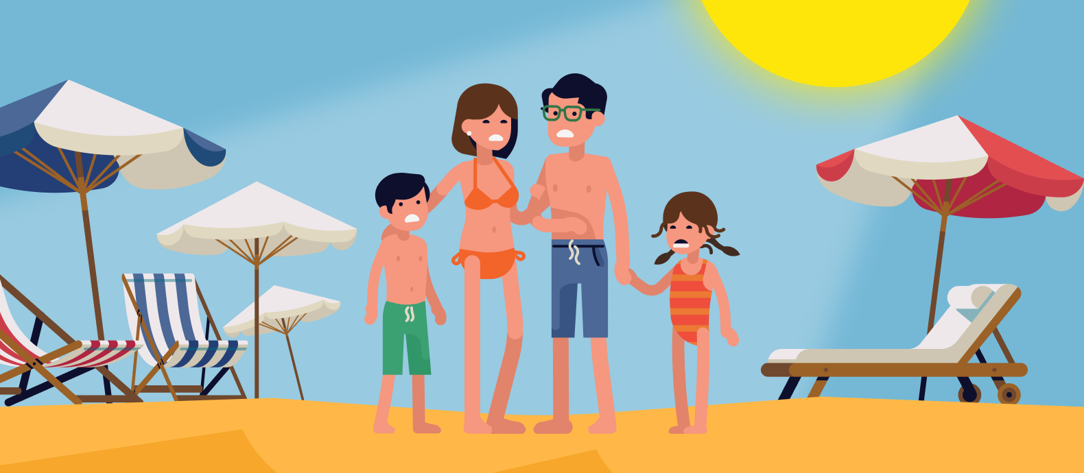 Sea, sun, and fake sunscreen: Top industries at risk in summer
