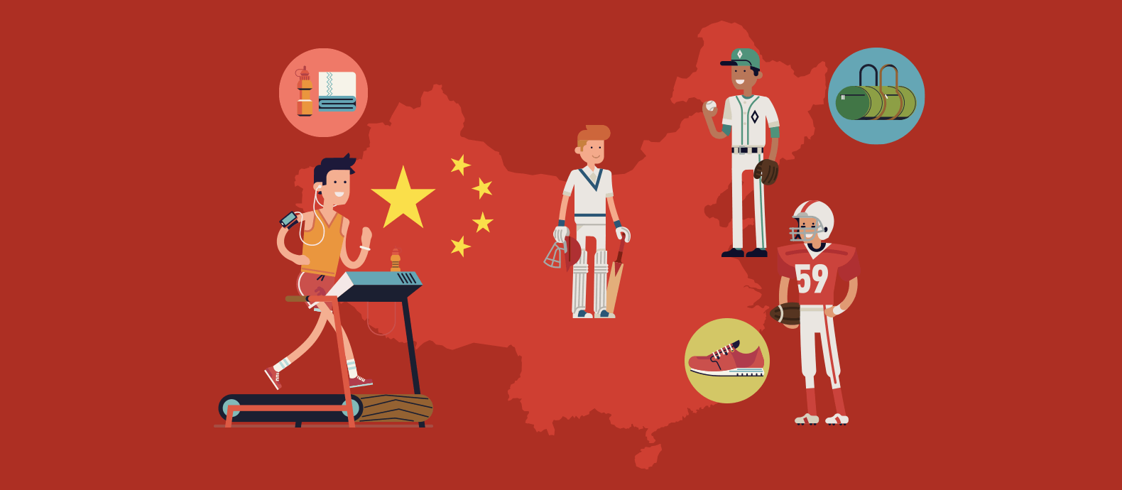 Growing opportunities for sports brands in China